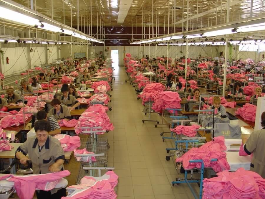 Vanadzor Gloria Sewing Factory LLC, Darbbag's