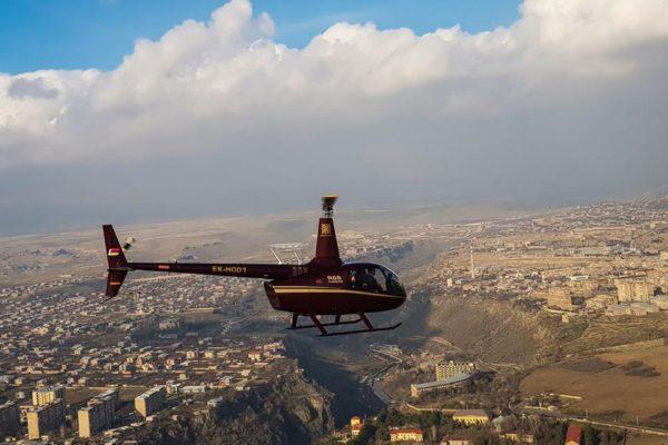 Armenia Wellness & SPA offers new service: helicopter transfers